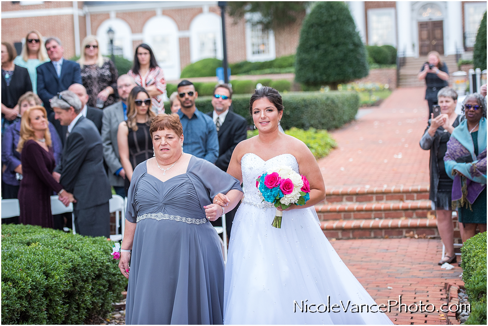 The bridal entrance at Virginia Crossings.