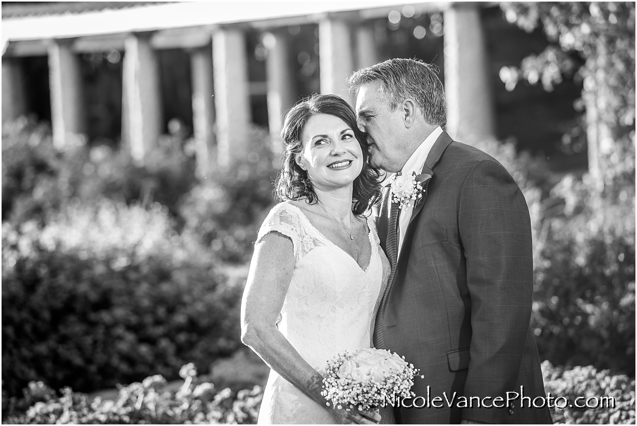 Just married at Maymont Park in Richmond Virginia.